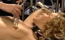 Lesbian BDSM suction play