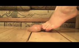 Nuts under feet