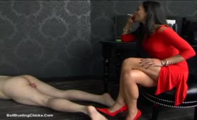 CBT and Smoking Mistress with Empress Cruel
