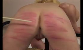 Ass and thighs Caned