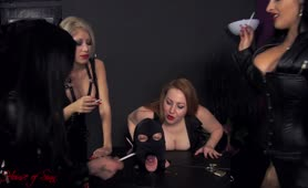 3 Mistresses and male slave