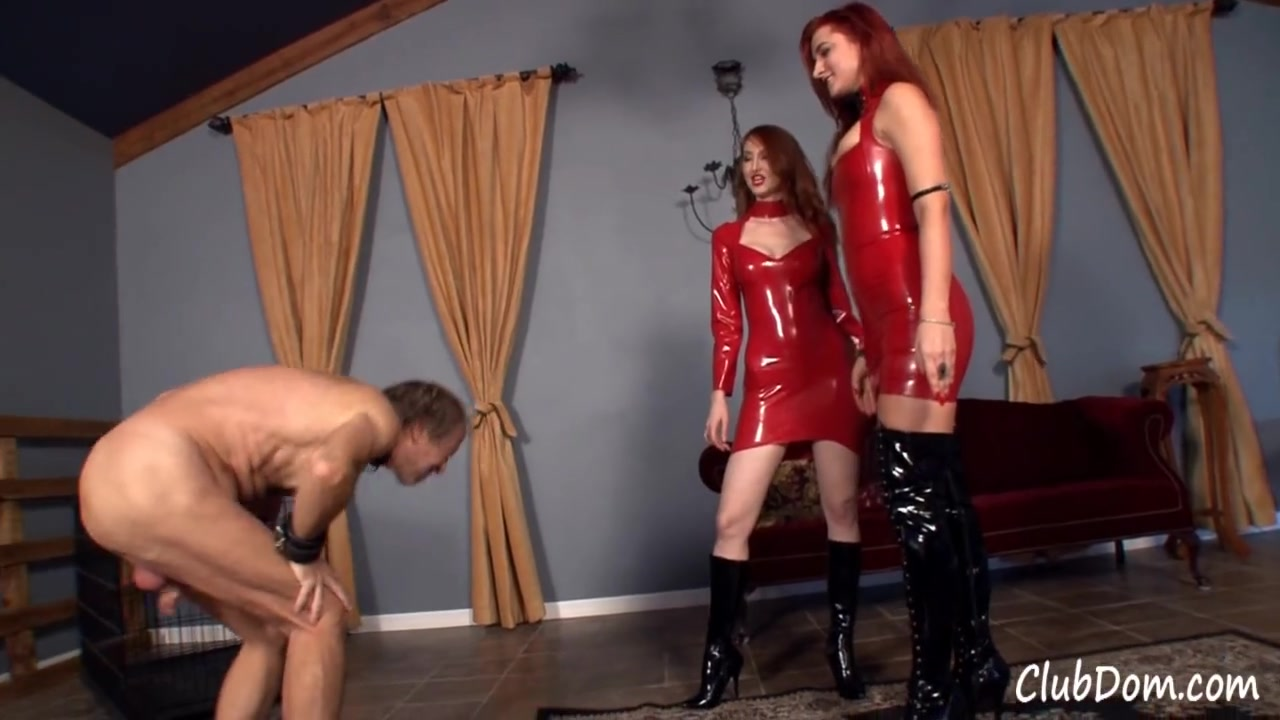 Kendra and friend - Brutal CBT Punishment