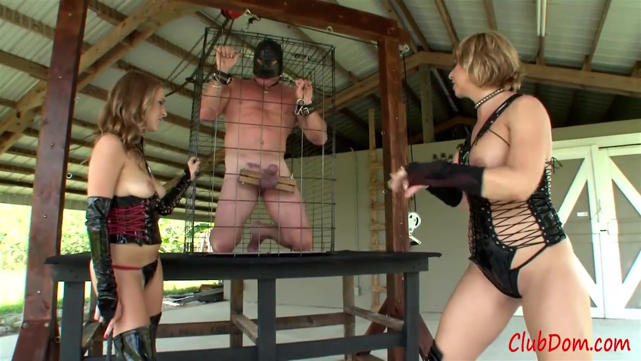 Extreme CBT for Caged Slave
