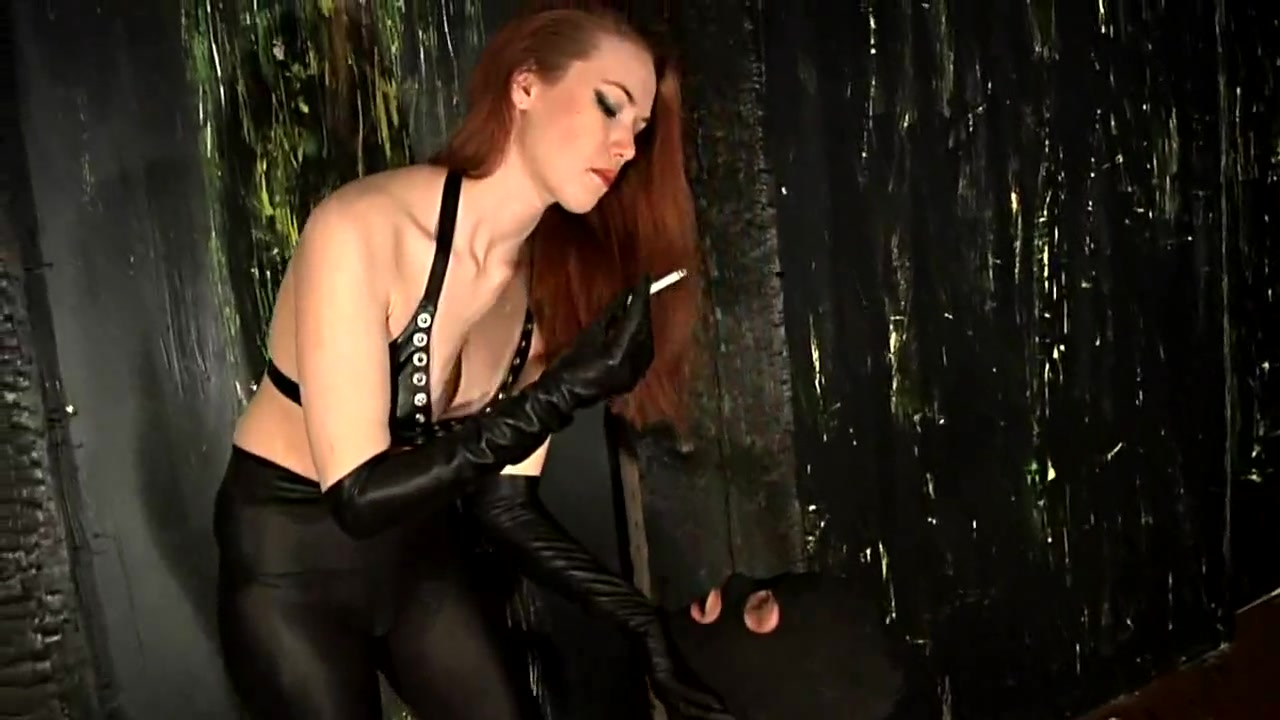 Strict Mistress and Male Slave