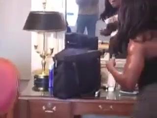 Rough ebony Strap On Mistress