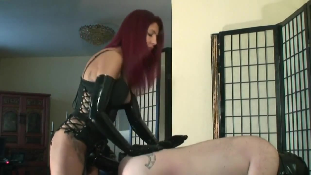 Strap-on from gorgeous Cruel Latex Mistress