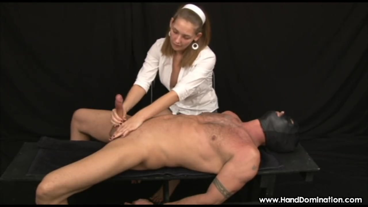Handjob from Sadistic woman