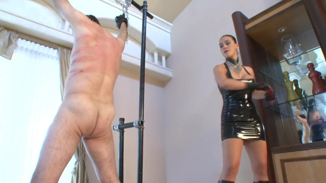Megan Gives Merciless Flogging