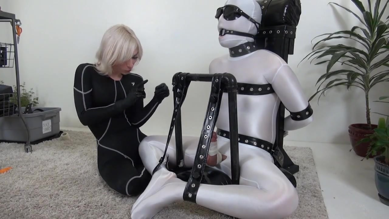Extreme Bondage Edging with Ruined Orgasms