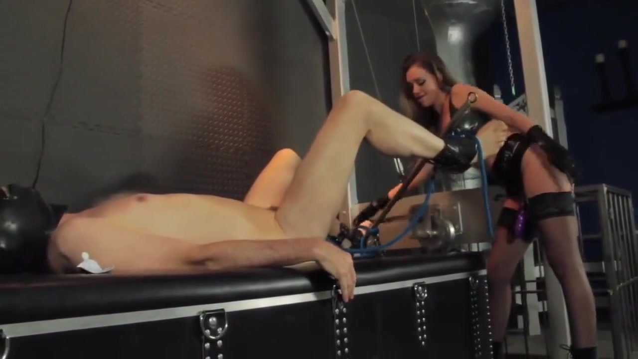 Pegged Hard by beautiful Mistress