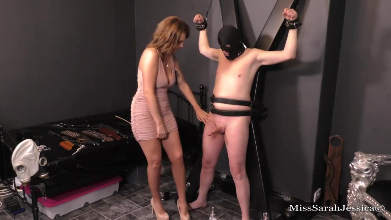 Mistress Sarah Jessica - The edging cumming