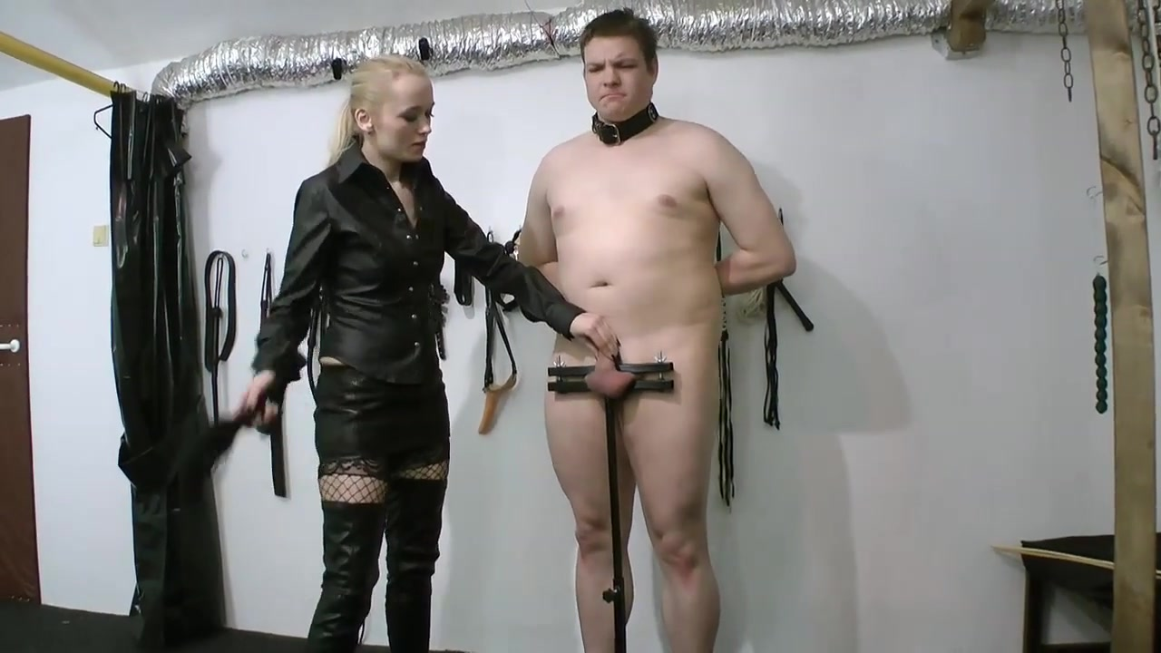 penis Punishment in Standing Humbler