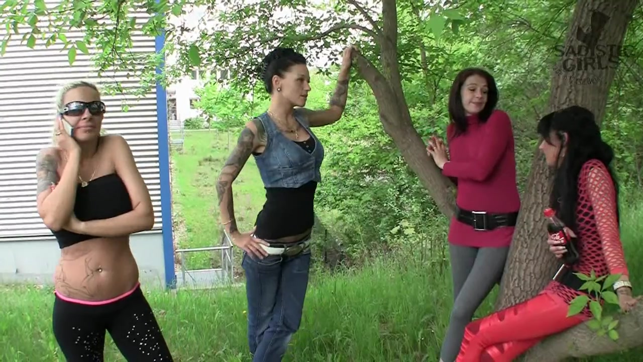 Merciless Outdoors Ballbusting