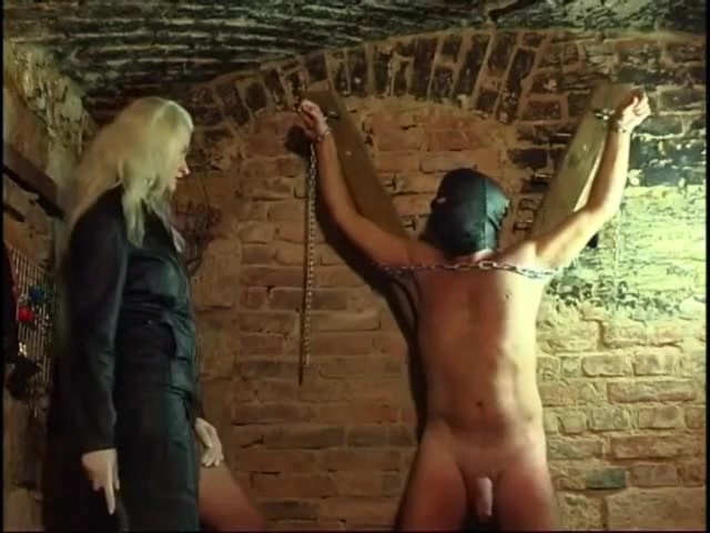 German - cock Whipped in Cellar