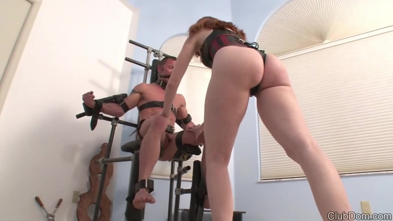 Kendra Busting Helpless Balls