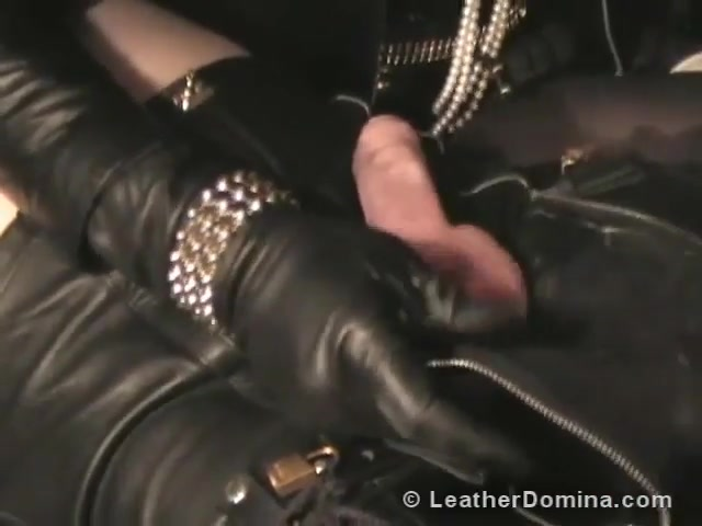 The Leather Domina - CBT