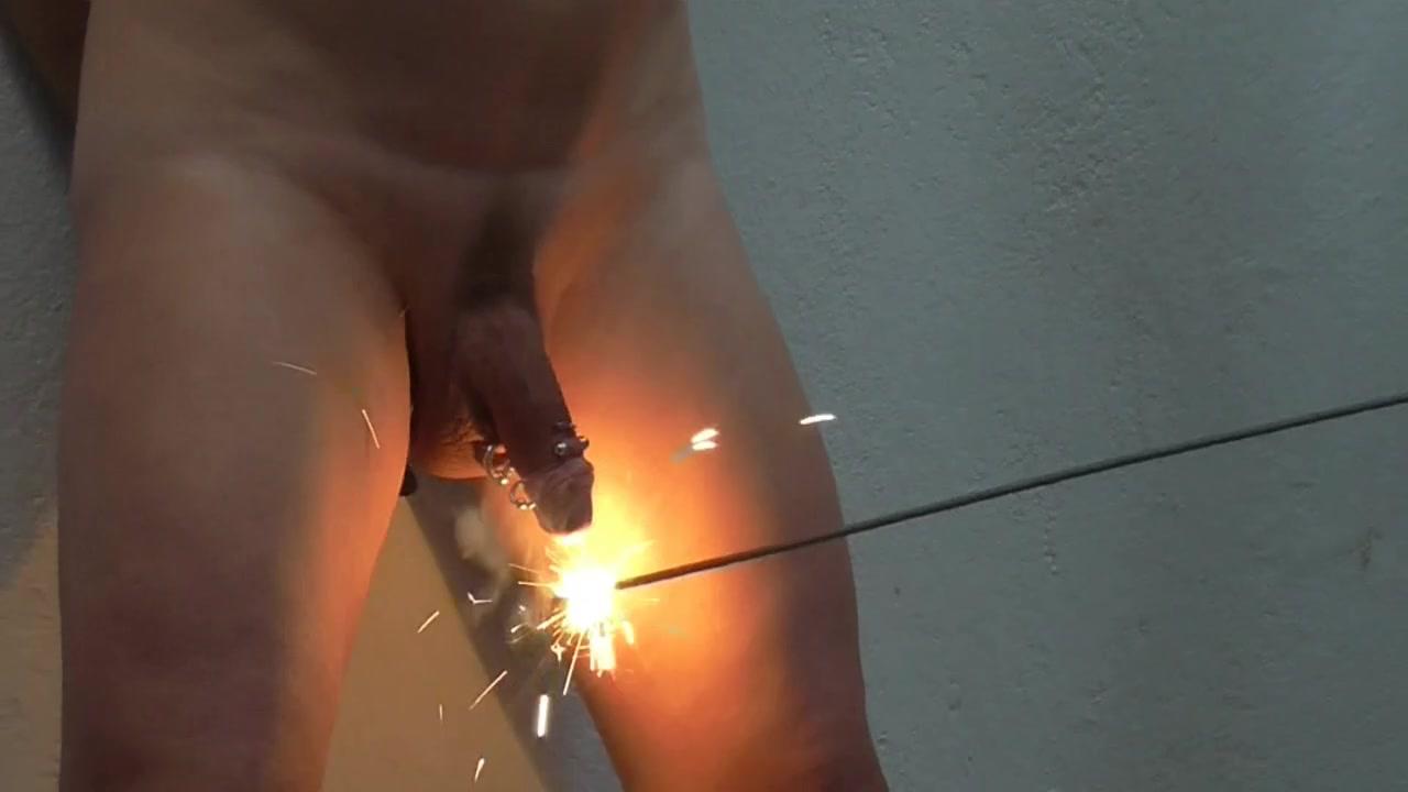 Pierced penis Tortured