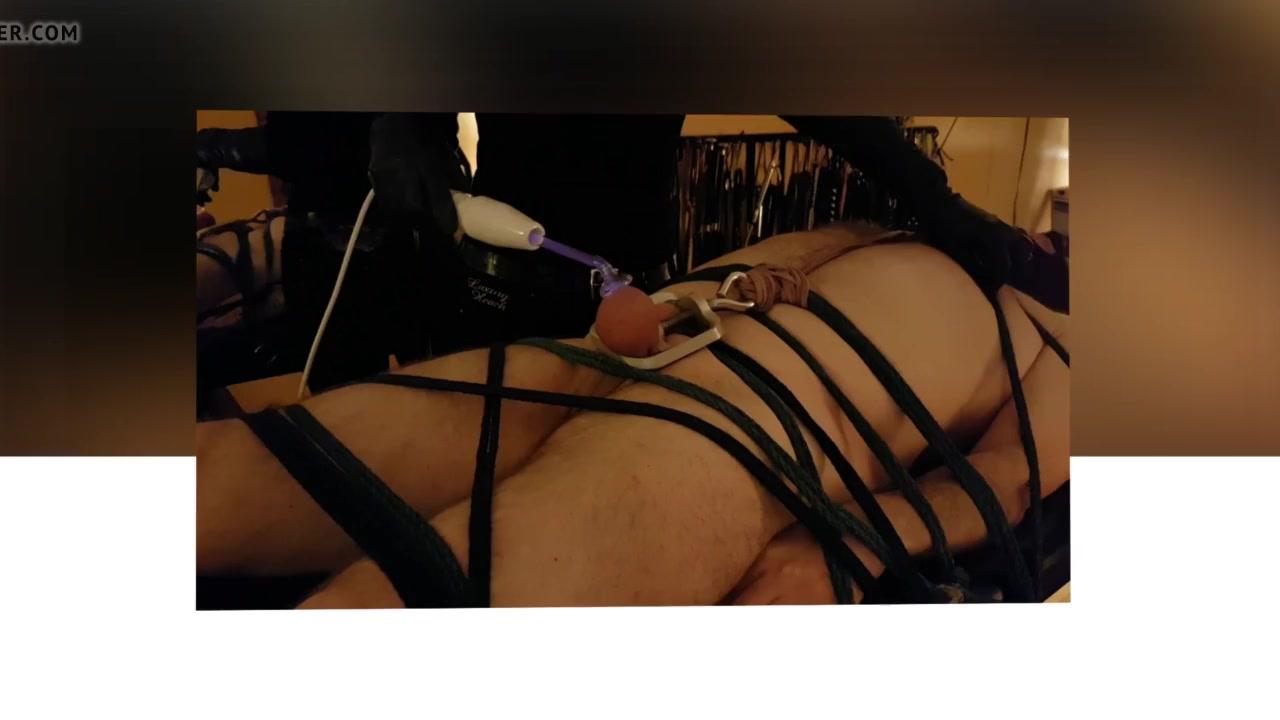 Violet Wand Ball Torture