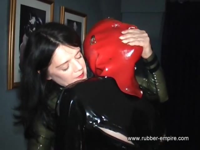 Rubber Slave for the Fucking Machine