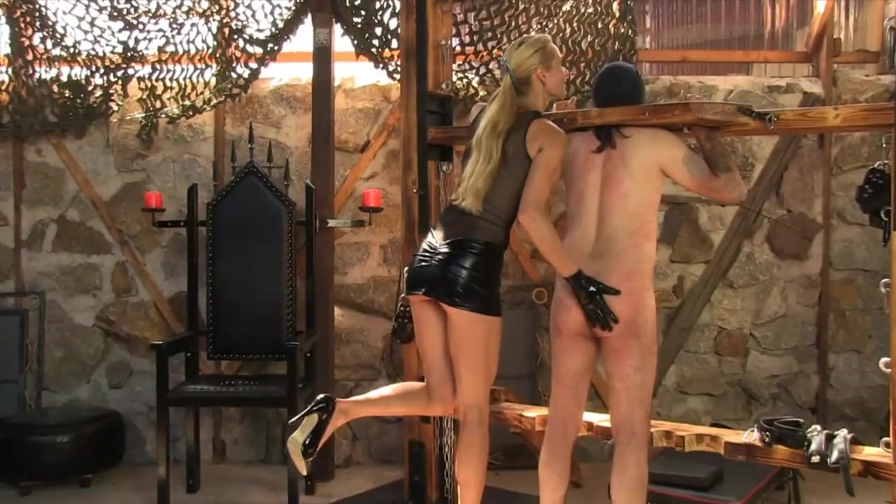 Victoria's Slave Whipped and Caned