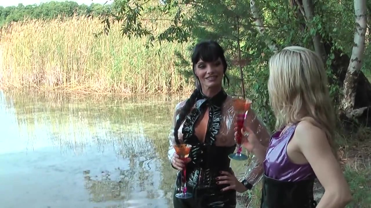 nasty Carmen and Friend - Outdoor Punishment Humiliation