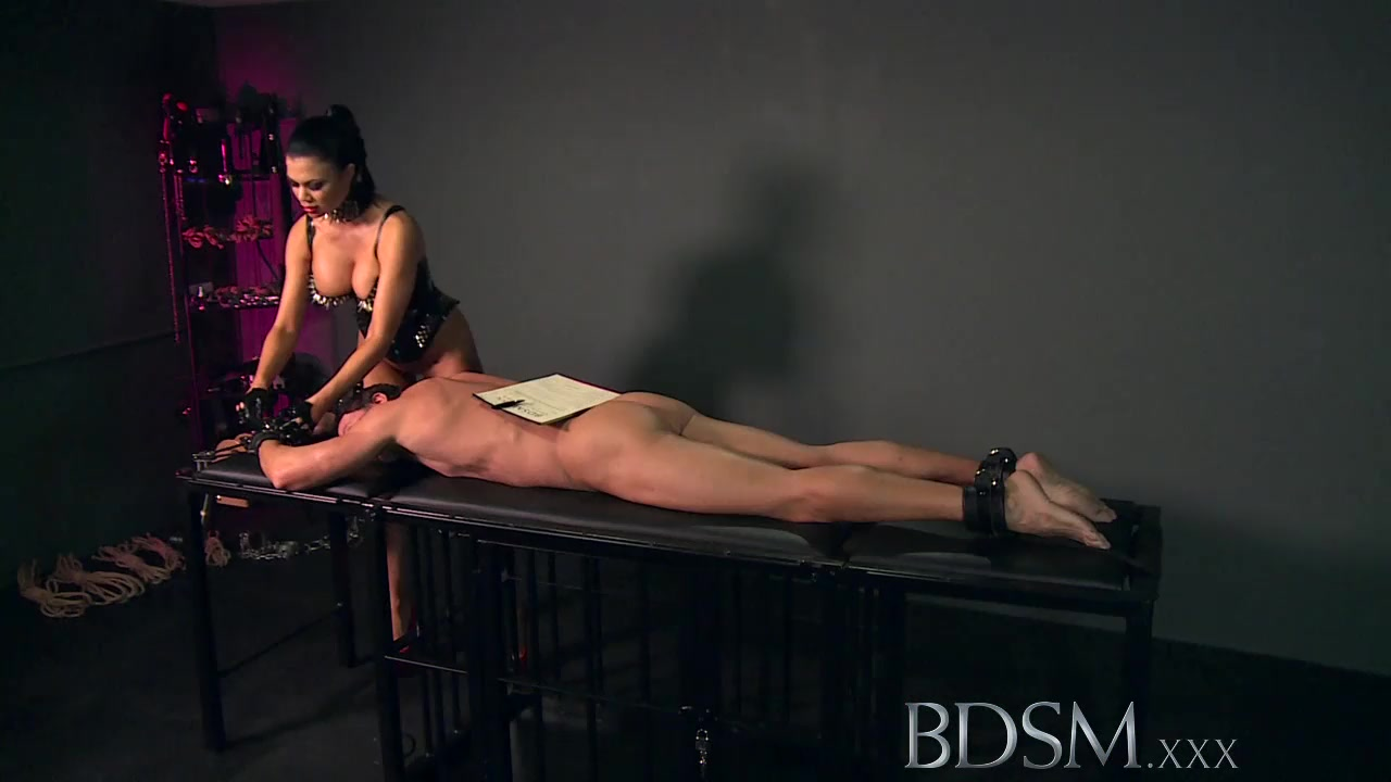 Busty Domme and Slave boyfriend