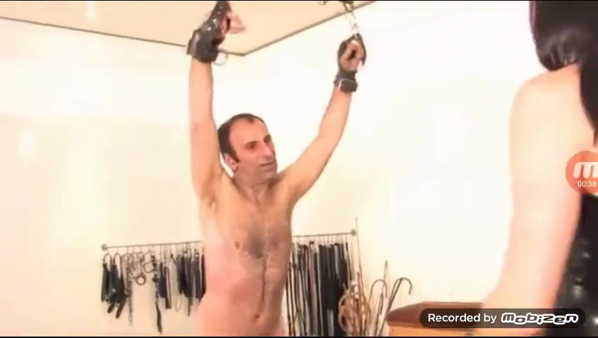 Torturing Cock and Balls of a Slave