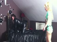 Sissy slave fucked and spanked