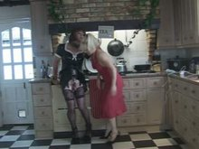 Slutty Rubber Sissy Punished