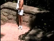 Sissy Husband Told to Masturbate in Public