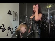 Sissy chick Training by Mistress