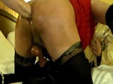 Fisting of Sissy boy
