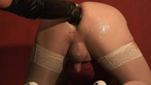 fist fuck training sissy slut's ass