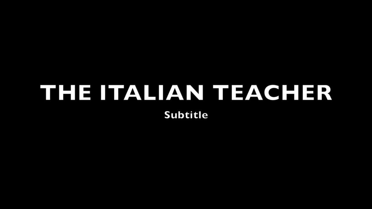 Sissyfying Italian