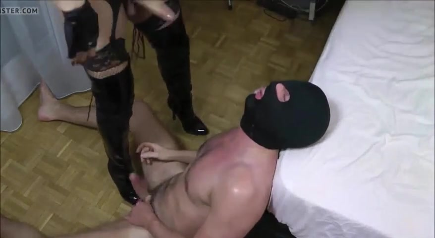 transexual Mistress and Slaveboy